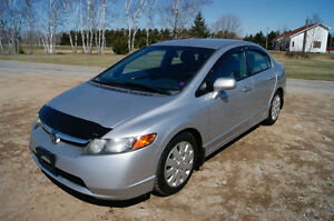 2007 Honda civic LX Sedan low km so nice