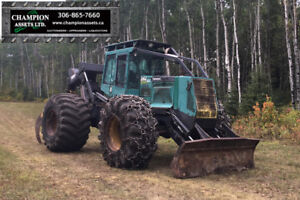 Timberjack 460C grapple Skidder / www.championassets.ca
