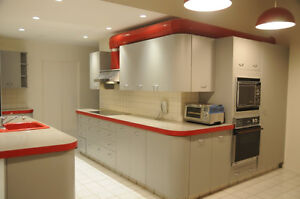 Kitchen cabinets (used) -- by Neff