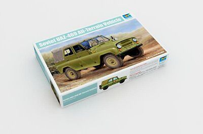 Trumpeter 02327 1/35 Soviet UAZ-469 All-Terrain Vehicle, used for sale  China