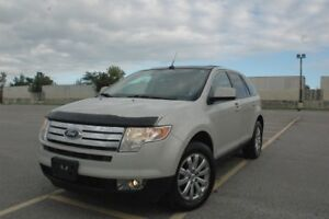 2007 FORD EDGE AWD SUV, LEATHER/NAVI/PANO ROOF SAFETY