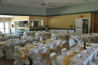 Chair Sashes/Table Overlays/Napkins/Napkin Rings/Centre Pieces