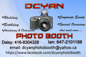 Photobooth services starting at $229
