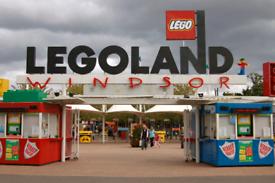 Legoland x2 tickets - Sunday 19 Sept 2021