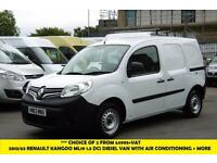 2013 RENAULT KANGOO ML19 DCI 1.5 DIESEL VAN WITH ONLY 62,000 MILES,AIR CONDITION