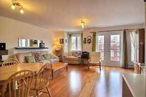 Furnished condo 2 BR steps from metro Vendome station