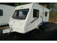 2012 ELDDIS XPLORE 504 LIGHTWEIGHT 4 BERTH FIXED BED CARAVAN - GREAT VALUE!