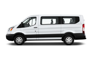 8,10,12 and 15 passenger Transit van rental GTA 647 943 1564