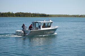 26' x 9'  Henley aluminum boat