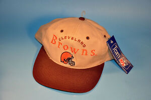 CLEVELAND BROWNS Football Baseball Cap Hat Drew Pearson W Tag