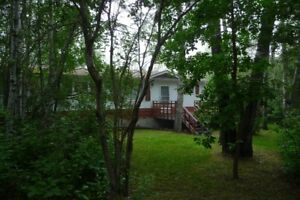 Secluded peaceful but not isolated acreage