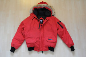Canada Goose Men's Chilliwack Bomber Jacket Red Small