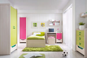 HIHOT – YOUTH BEDROOM SET AVAILABLE IN TWO COLORS