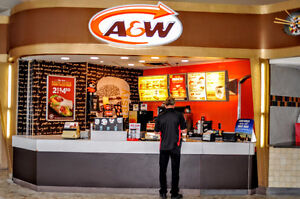 A&W Cook Person, Cashier, Stratford Kitchener Area image 1