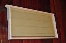 16 x Beekeeping FRAMES with ss wire, premium wax, eyelets Reservoir Darebin Area Preview