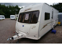 2006 BAILEY SENATOR OKLAHOMA 4 BERTH FIXED BED CARAVAN - GREAT SPEC AND VALUE