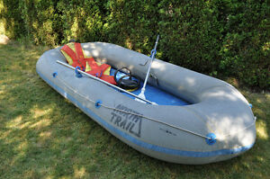 Inflatable boat 4 man -   North Trail - $85