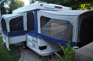 12' Three-Way Pop-Up tent trailer with AC! Kitchener / Waterloo Kitchener Area image 2