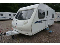 2008 ACE JUBILEE ARISTOCRAT 4 BERTH CARAVAN - FIXED BED - AWNING - LOVELY !!
