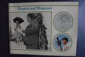 1971 Treaties and Promises Words and Color Pictures Book