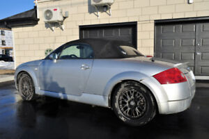 Belle et propre Audi TT roadster, turbo, quattro, convertible