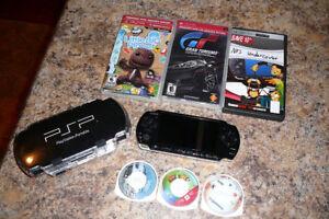 Console PSP et jeux
