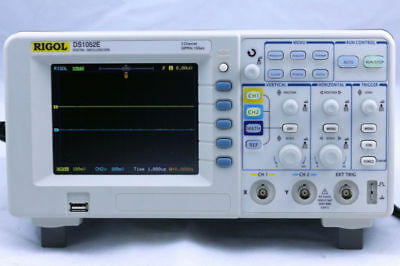 Rigol Ds1052e Digital Oscilloscope 50mhz 1 Gsas 2 Channels Plus Usb Storage