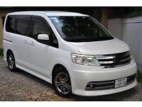 NISSAN SERENA RIDER VERSION, 2005, 2.0 PETROL, AUTOMATIC,72k F/S/ HISTORY PEARL