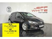 2017 Vauxhall Astra 1.4T 16V 150 SRi Nav 5dr Petrol black Manual