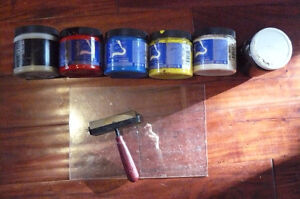 Linocut - woodcut - blockprinting supplies