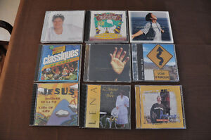 French Christian CDs - NEW PRICE