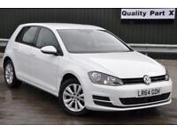 2014 Volkswagen Golf 1.4 TSI BlueMotion Tech SE DSG (s/s) 5dr