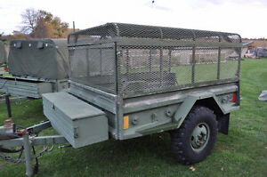 MILITARY CARGO TRAILER / OFF ROAD