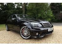 2009 59 Mercedes-Benz C63 AMG 6.3 7G-Tronic 59K FMBSH PERFORMANCE PACK 490 BHP