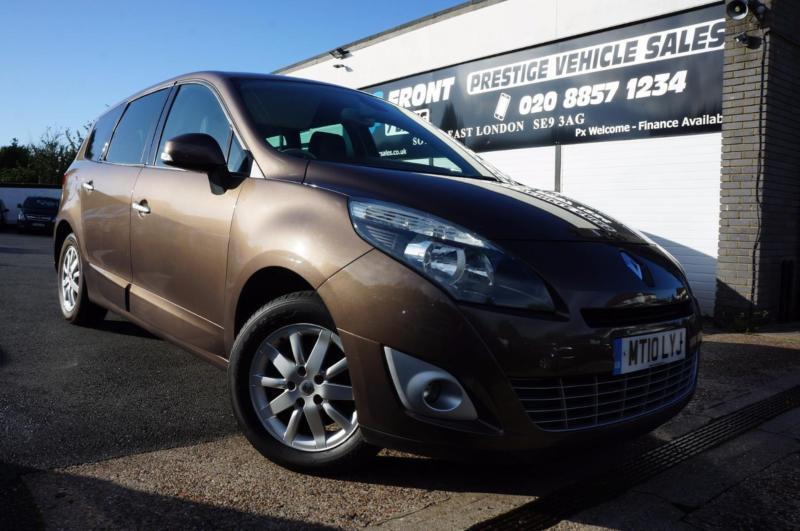 2010 RENAULT GRAND SCENIC PRIVILEGE TOMTOM DCI 1.5 DIESEL MANUAL 7 SEATER MPV MP