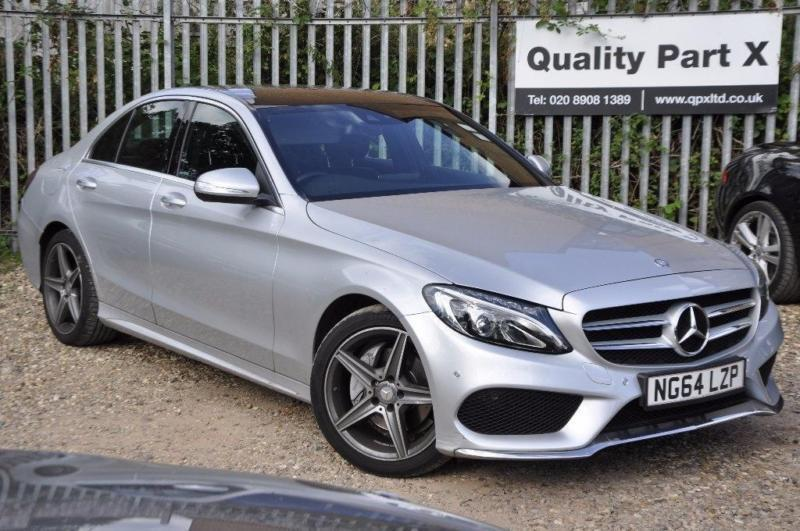 2015 MercedesBenz C Class 20 C200 AMG Line Saloon 7GTronic Plus
