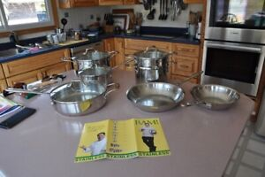 Emeril All-Clad pots and pans