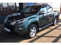 2014 GREEN ISUZU D MAX 2.5 TD YUKON 4X4 CREW CAB PICK UP CAR FINANCE FR 54 PW