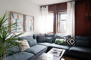 GORGEOUS & SPACIOUS FURNISHED 5 BDRM APARTMENT - AVAIL MAY 1ST