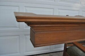 Solid Maple MANTLE - for Fireplace or Wall Display Kitchener / Waterloo Kitchener Area image 9