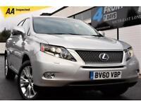 2011 LEXUS RX 450H 3.5 SE-L 5DR SUV 4X4 AUTOMATIC PETROL HYBRID 4X4 HYBRID