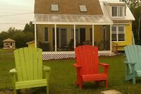 BEACHFRONT RENTAL COTTAGE on Brule Shore in Tatamagouche!