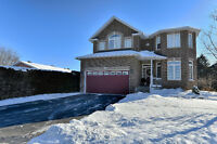 4 bed, 4 bath detached home in Embrun's growing community!