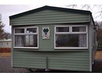 Static Caravan 2004 Cosalt carlton 35 x 12 2 beds £13250.00 plus site fees