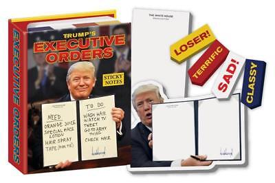UPG Donald Trump Executive Orders Sticky Notes Novelty Gag Desk Pad