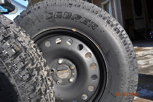 Winter tires and Rims for 2014 Jeep Wrangler...lowered the price Cornwall Ontario image 4