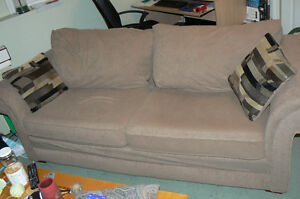 Light brown coloured couch