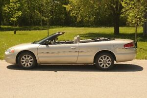 2006 Chrysler Sebring Limited Convertible
