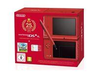 Nintendo DSI Xl limited edition super mario