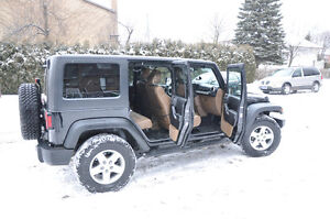 2011 Jeep Wrangler Unlimited RUBICON 4 doors